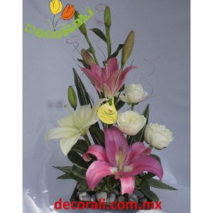 Rosas y lili