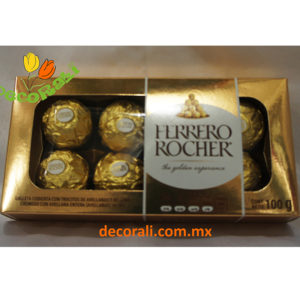 Caja de chocolate ferrero rocher