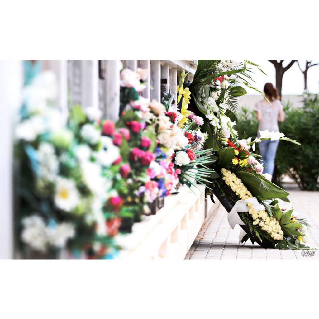 Flores al cementerio