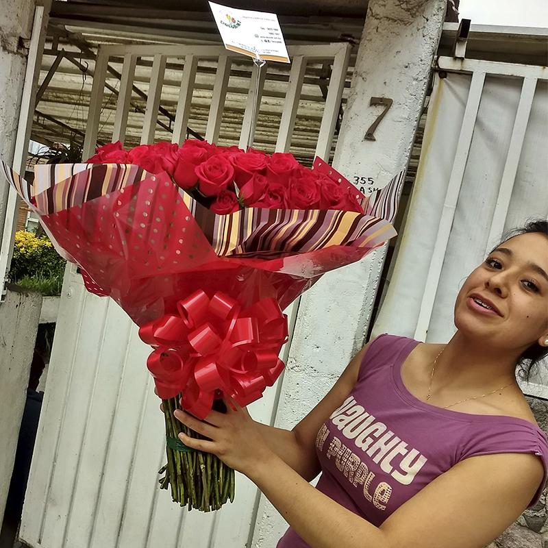 ramo gigante de rosas