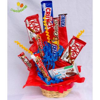 Chocolates en canastita