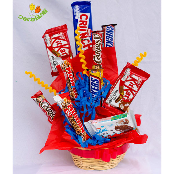 Chocolates en canastita