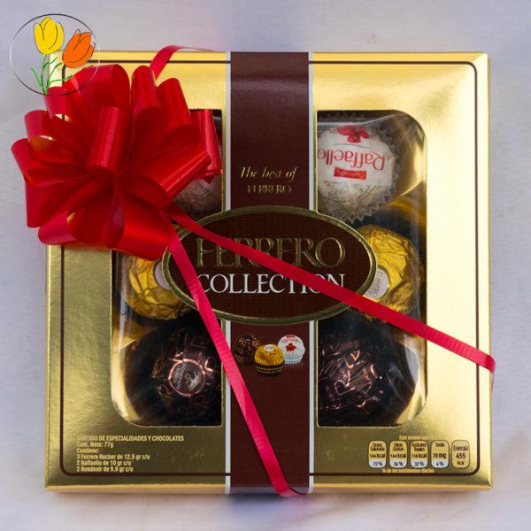 Caja de chocolate ferrero rocher
