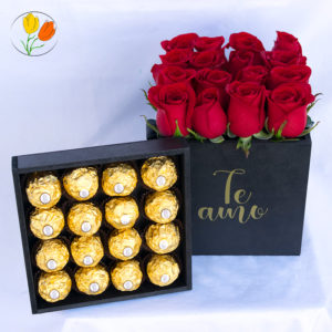 Caja Rosas y Ferrero 16